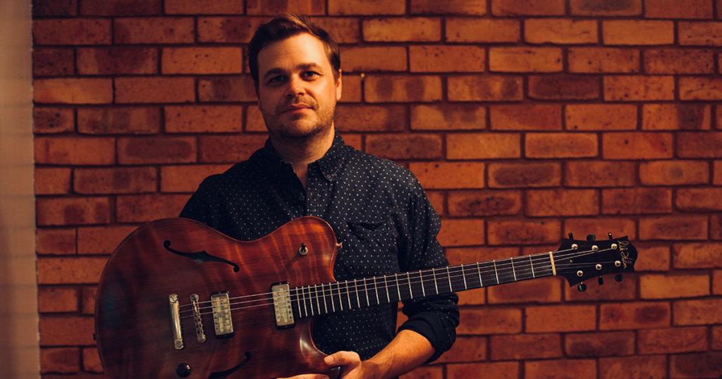 Australian guitarist Adam Miller