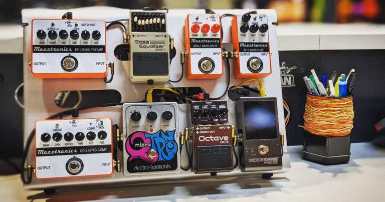 mono pedalboard